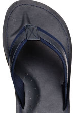 Flip-flops - Dark blue - Men | H&M CA 3