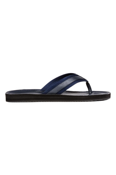 Flip-flops - Dark blue - Men | H&M