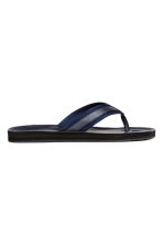 Flip-flops - Dark blue - Men | H&M CA 1