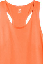 Ultra-light running vest - Orange - Men | H&M 3