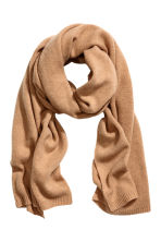 Cashmere scarf - Camel -  | H&M IE 1