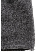 Cashmere hat - Dark grey marl -  | H&M CN 2