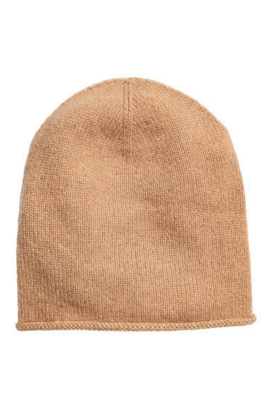 Cashmere hat - Beige - Ladies | H&M CN 1