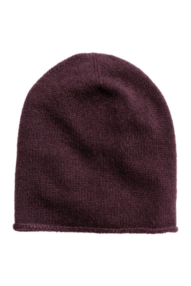 Berretto in cashmere - Bordeaux -  | H&M IT 1