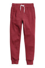 Sweatpants - Dark red - Kids | H&M CN 2