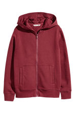 Hooded jacket - Burgundy - Kids | H&M 2