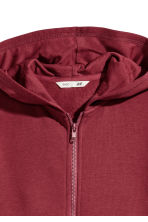 Hooded jacket - Burgundy - Kids | H&M CN 3