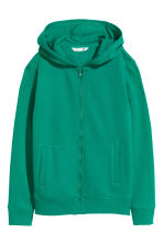 Hooded jacket - Green - Kids | H&M CN 2