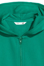 Hooded jacket - Green - Kids | H&M CN 3