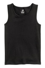 2-pack vest tops - Black - Kids | H&M CN 3