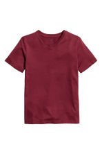 2-pack T-shirts - Burgundy -  | H&M CA 3