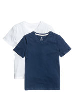 2-pack T-shirts - Dark blue - Kids | H&M CA 2