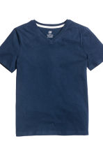 T-shirt, 2 pz - Blu scuro - BAMBINO | H&M IT 5