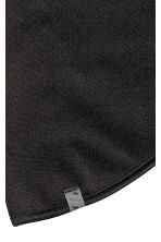 Tube scarf in fleece - Black - Men | H&M CA 2