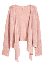 Draped cardigan - Dusky pink - Ladies | H&M 2