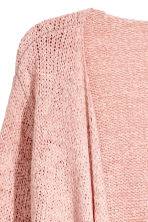 Draped cardigan - Dusky pink - Ladies | H&M 3