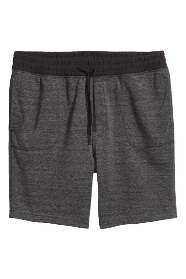 Pyjama shorts - Dark grey - Men | H&M 1
