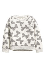 Printed sweatshirt - Grey - Kids | H&M CA 1