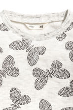 Printed sweatshirt - Grey -  | H&M 2