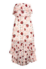 Flounced dress - Natural white/Floral - Ladies | H&M 2