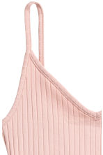 Jersey crop top - Powder pink - Ladies | H&M 3