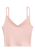 Jersey crop top - Powder pink - Ladies | H&M 2