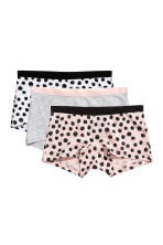 3-pack cotton boxer briefs - Light pink - Kids | H&M 1