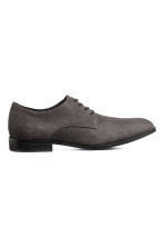 Derby shoes - Dark grey - Men | H&M 1