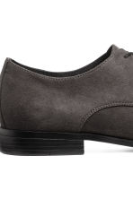 Derby shoes - Dark grey - Men | H&M 4