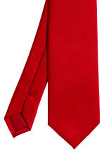 Satin tie - Red - Men | H&M CA 3