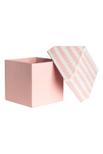 Storage box - Light pink/Patterned - Home All | H&M CA 3