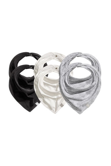 Lot de 6 foulards - Blanc -  | H&M FR 1