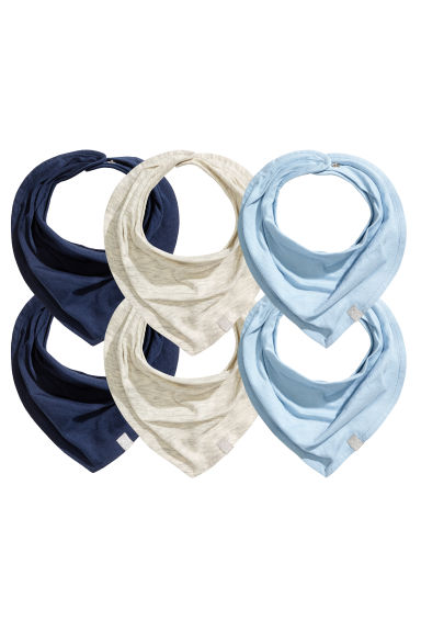 Lot de 6 foulards - Bleu clair - ENFANT | H&M BE
