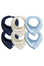 Lot de 6 foulards - Bleu clair -  | H&M FR 1