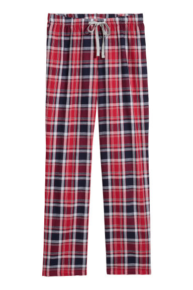 Flannel pyjama bottoms Model