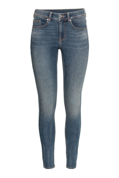 Super Skinny Regular Jeans - ダークブルー - Ladies | H&M JP