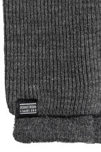 Fingerless gloves - Dark grey - Men | H&M 2