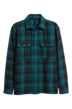 Dark turquoise/Checked