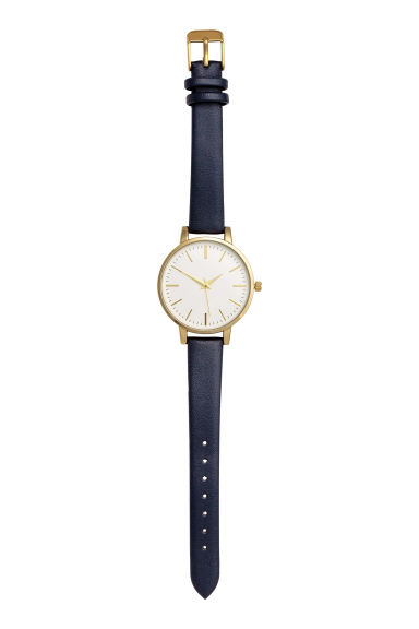 Watch - Dark blue - Ladies | H&M CN
