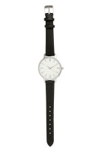 Watch - Black/silver-colored - Ladies | H&M CA 1