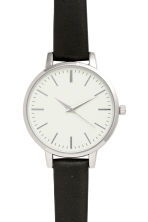 Watch - Black/silver-colored - Ladies | H&M CA 2