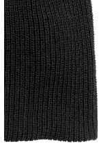 Rib-knit hat - Black - Men | H&M 2