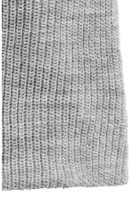 Rib-knit hat - Light grey marl - Men | H&M 2