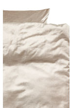 Set copripiumino in velluto - Beige - HOME | H&M IT 3