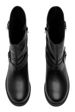 Biker boots - Black - Ladies | H&M CA 2