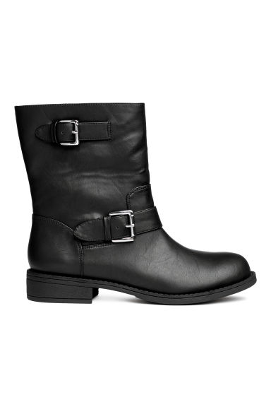 Biker boots - Black - Ladies | H&M GB