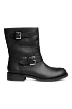 Biker boots - Black - Ladies | H&M CA 1