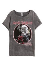 Dark grey/Iron Maiden