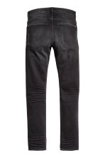 Skinny Low Trashed Jeans - Zwart washed out - HEREN | H&M NL 3