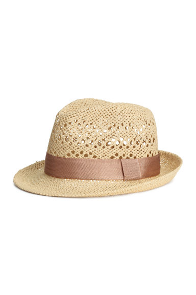 Straw hat - Vintage pink - Ladies | H&M CA 1